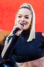 RITA ORA Performs at Kingsday Celebrations in Breda 04/27/2018