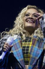RITA ORA Performs at O2 Academy in Glasgow 05/11/2018