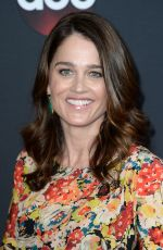 ROBIN TUNNEY at Disney/ABC/Freeform Upfront in New York 05/15/2018