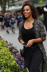 ROCHELLE HUMES Leaves Global Radio in London 05/25/2018