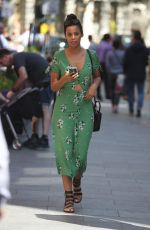 ROCHELLE HUMES Out and About in London 05/05/2018