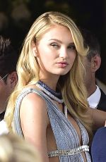 ROMEE STRIJD Leaves Hotel Martinez in Cannes 05/08/2018