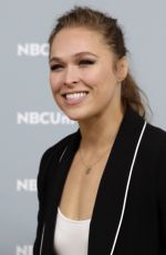 RONDA ROUSEY NBCUniversal Upfront Presentation in New York 05/14/2018