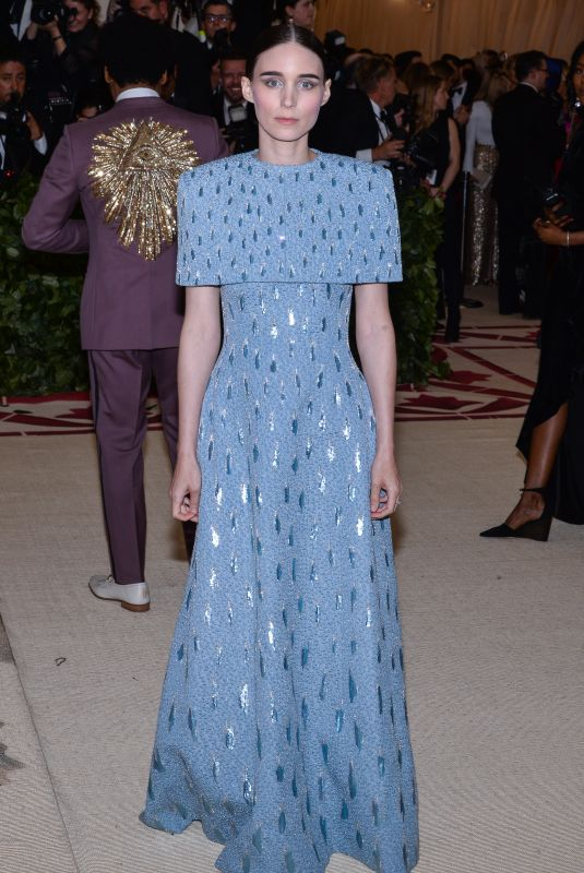 ROONEY MARA at MET Gala 2018 in New York 05/07/2018