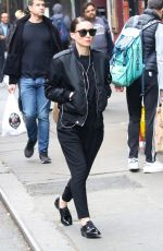 ROONEY MARA Out and About in New York 05/06/2018