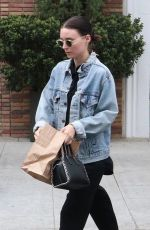ROONEY MARA Out for Lunch at Cafe Gratitude in Beverly Hills 05/30/2018