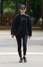 ROONEY MARA Out Hiking at Treepeople Park in Beverly Hills 05/26/2018
