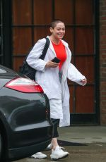 ROSE MCGOWAN Leaves Her Hotel in New York 05/22/2018