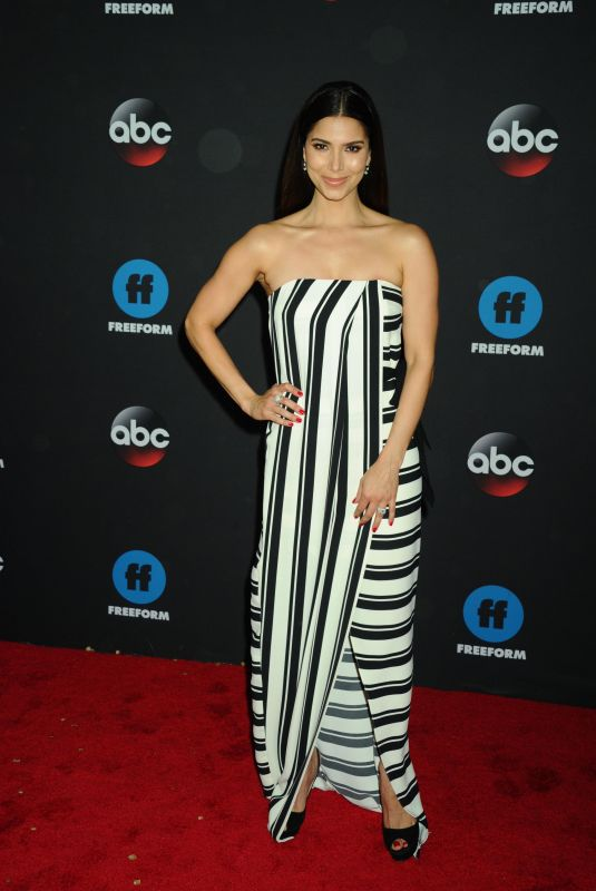 ROSELYN SANCHEZ at Disney/ABC/Freeform Upfront in New York 05/15/2018