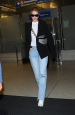 ROSIE HUNTINGTON-WHITELEY at Los Angeles International Airport 05/11/2018