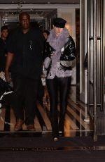ROSIE HUNTINGTON-WHITELEY Leaves Her Hotel in New York 05/06/2018