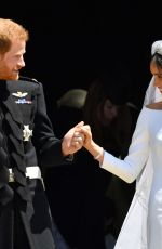 Royal Wedding of MEGHAN MARKLE and Prince Harry at Windsor Castle 05/19/2018