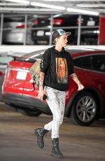 RUBY ROSE Out and About in Los Angeles 05/04/2018