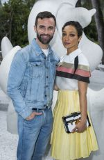 RUTH NEGGA at Louis Vuitton 2019 Cruise Collection in Saint Paul De Vence 05/28/2018
