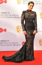 SAIR KHAN at Bafta TV Awards in London 05/13/2018