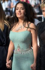 SALMA HAYEK at Girls of the Sun Premiere at Cannes Film Festival 05/12/2018