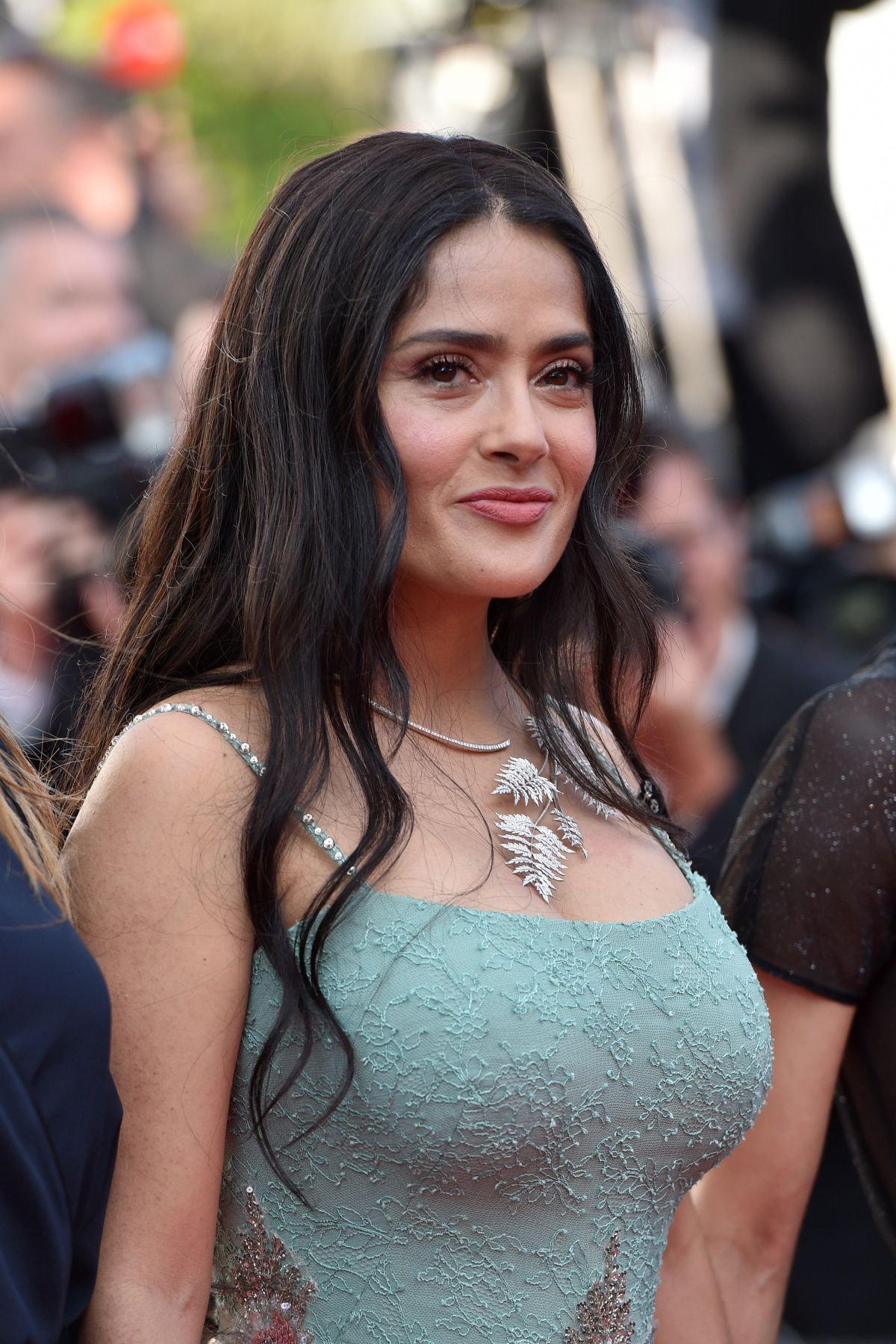 SALMA HAYEK at Girls of the Sun Premiere at Cannes Film ... Salma Hayek