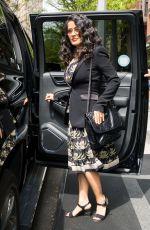 SALMA HAYEK Leaves Her Hotel in New York 05/05/2018