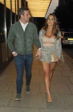 SAM FAIERS and Paul Knightley at Bulgari Hotel in London 05/18/2018