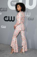 SAMANTHA LOGAN at CW Network Upfront Presentation in New York 05/17/2018