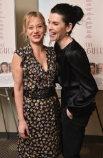 SAMANTHA MATHIS and JULIANNA MARGUILES at The Seagull Premiere in New York 05/10/2018