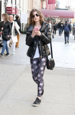 SAMI GAYLE Out and About in New York 04/29/2018