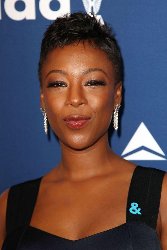 SAMIRA WILEY at 2018 Glaad Media Awards in New York 05/05/2018