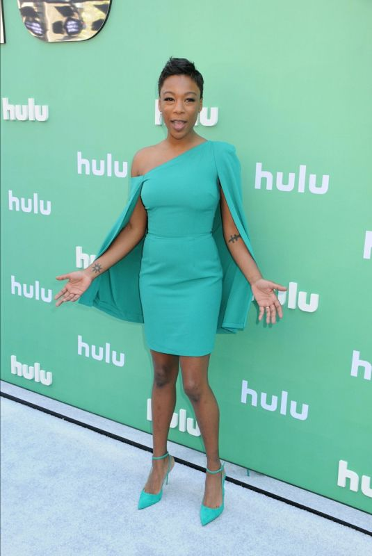 SAMIRA WILEY at Hulu Upfront Presentation in New York 05/02/2018