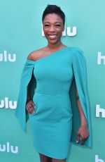 SAMIRA WILEY at Hulu Upfront Presentation in New York 05/02/2018