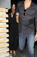 SANDRA BULLOCK and Bryan Randall at Roku Sushi in West Hollywood 05/18/2018