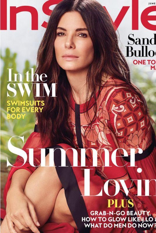 SANDRA BULLOCK for Instyle Magazine, June 2018