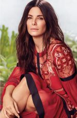 SANDRA BULLOCK in Instyle Magazine, June 2018