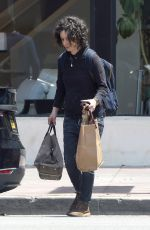SARA GILBERT Out and About in Los Angeles 05/06/2018