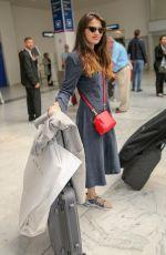 SARA SALAMO Arrives at Nice Airport 05/10/2018