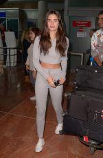 SARA SAMPAIO Arrives at Nice Airport 05/10/2018