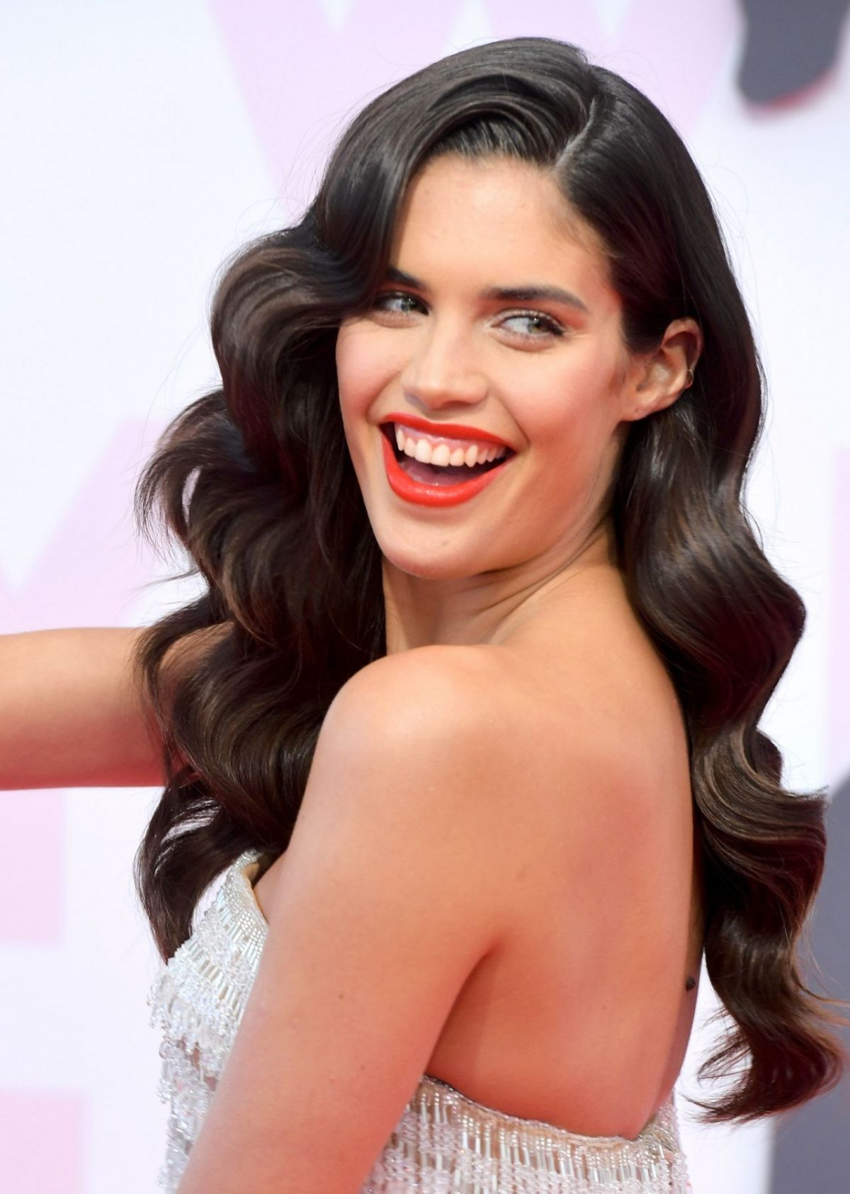 SARA SAMPAIO At Fashion For Relief At 2018 Cannes Film