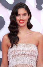 SARA SAMPAIO at Fashion for Relief Premiere at 2018 Cannes Film Festival 05/13/2018