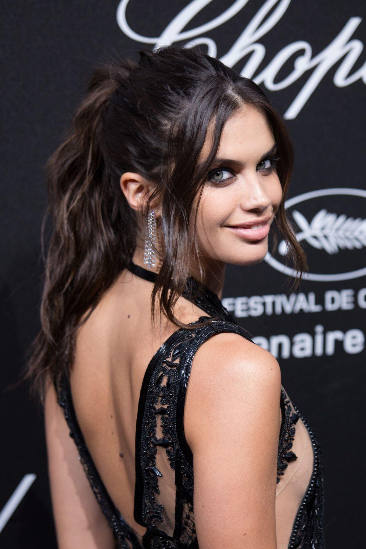 SARA SAMPAIO At Secret Chopard Party At 71st Cannes Film