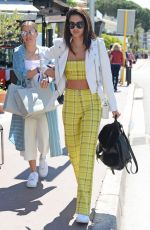 SARA SAMPAIO Out and About in Cannes 05/15/2018