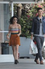 SARAH HYLAND and Adams Wells Out in Studio City 05/26/2018