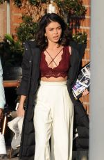 SARAH HYLAND on the Set of Her New Comedy in Hollywood 05/23/2018