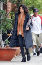 SARAH HYLAND on the Set of The Wedding Year in Hollywood 05/25/2018