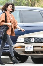 SARAH HYLAND Out and About in Los Angeles 05/30/2018
