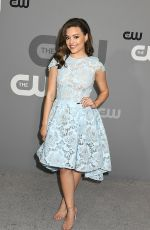 SARAH JEFFERY at CW Network Upfront Presentation in New York 05/17/2018