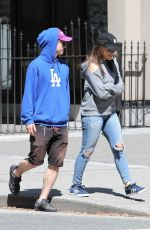 SARAH JEFFERY Out for Lunch in Vancouver 05/05/2018