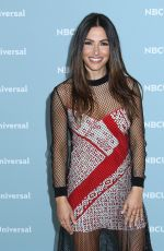SARAH SHAHI at NBCUniversal Upfront Presentation in New York 05/14/2018