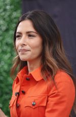 SARAH SHAHI on the Set of Extra in Los Angeles 05/29/2018