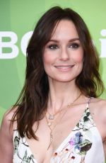 SARAH WAYNE CALLIES at NBC/Universal Summer Press Day in Universal City 02/05/2018