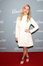 SASHA PIETERSE at The Honor List Premiere in West Hollywood 05/10/2018