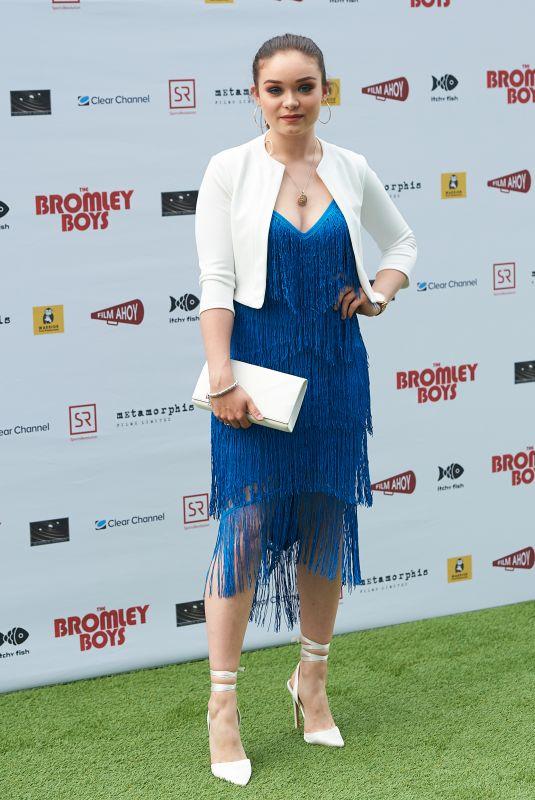 SAVANNAH BAKER at Bromley Boys Premiere in London 05/24/2018